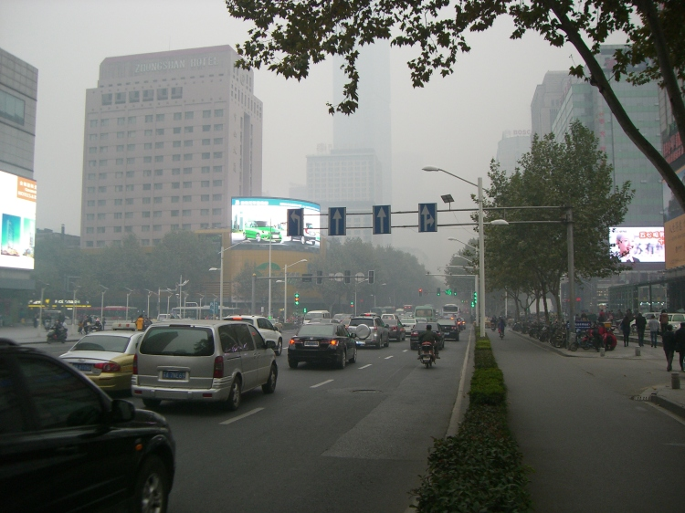 Steet view from Nanjing